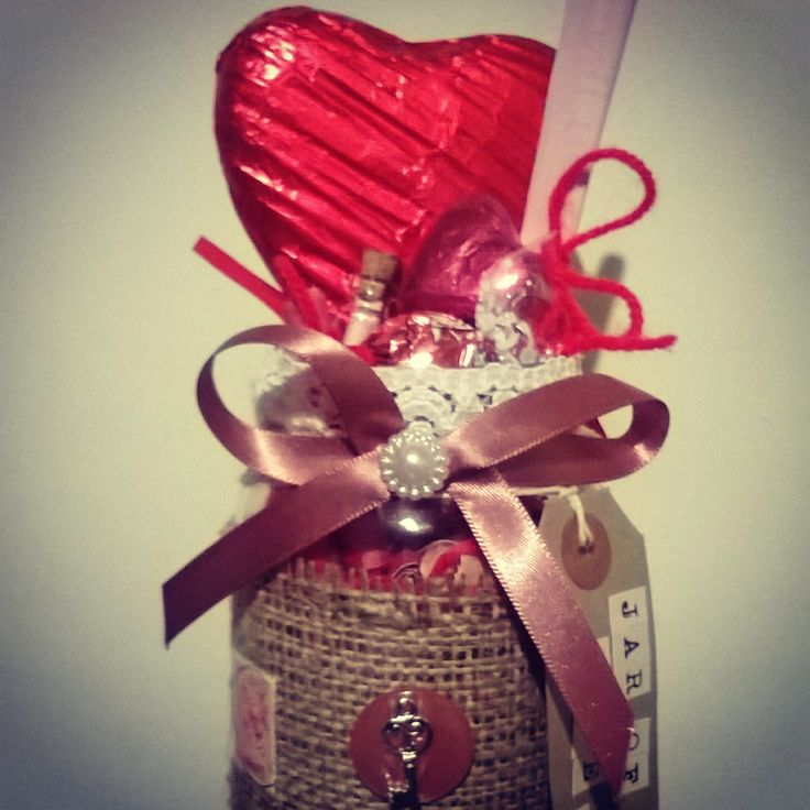 Love in a jar #just a thought jars #unique #handmade #thoughtful #moonback #gifts