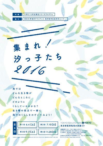 葛西臨海水族園 | 小学5・6年生対象シリーズプログラム「集まれ!汐っ子(しょっこ)たち」