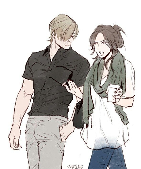 Leon and Helena. For some reason...I find Helena very annoying. O: