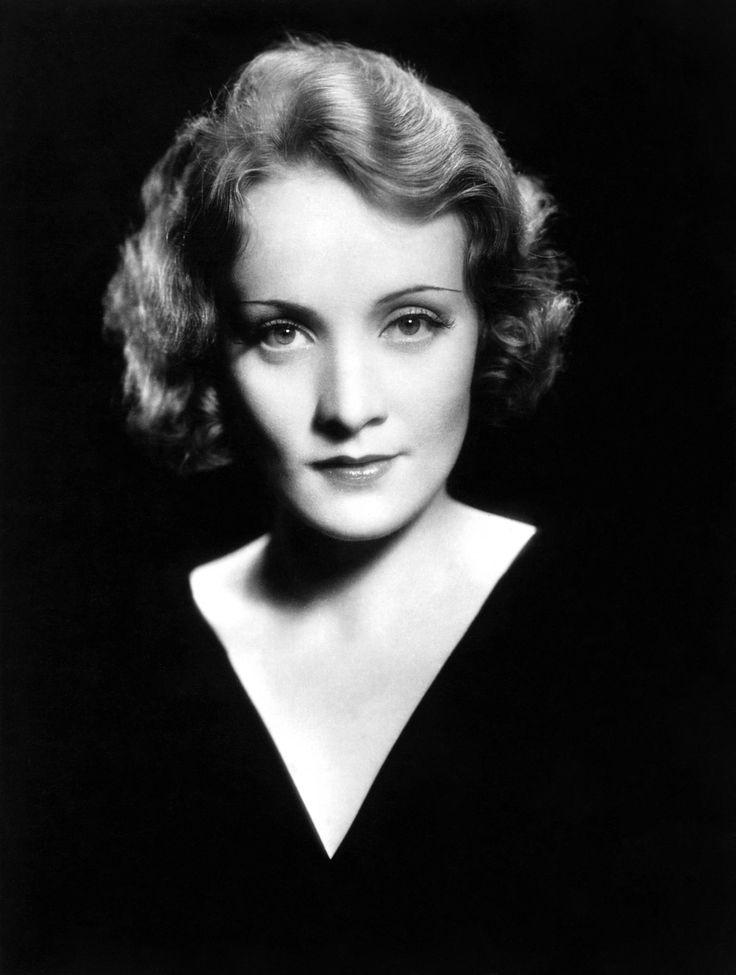 Portrait of Marlene Dietrich by Eugene Robert Richee, 1930's