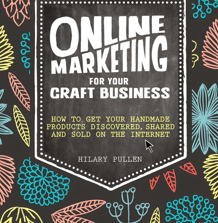 The cover story of my book! Craft Blog UK - Online Marketing for your craft business, how to get your handmade products discovered, shared and sold online!