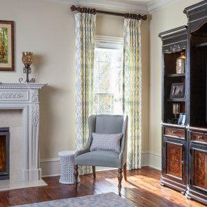 Traditional Living Room   Creighton Farm North Project   Lauren Nicole  Designs   Interior Design Firm