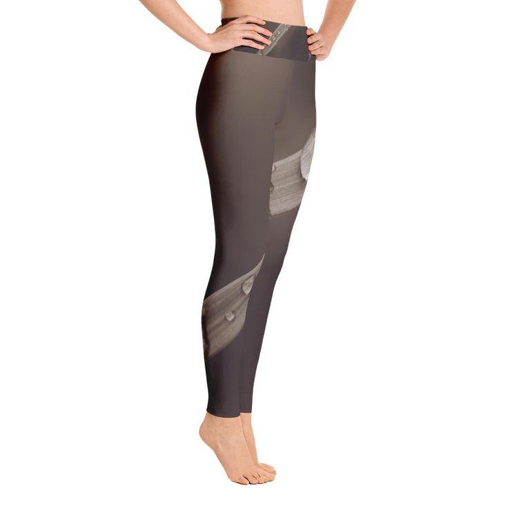 Brown Slide Yoga Leggings