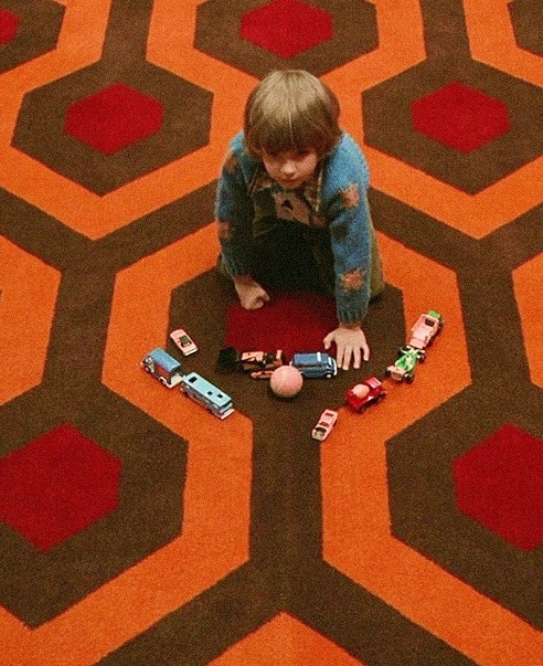 : The Shin, Patterns, Stephen King, The Glow, Stanley Kubrick, Movie, Carpets, Cabins Fever, Shinee 1980