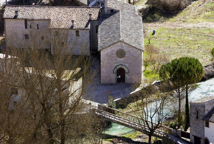 Borgo Cerreto (PG). Chiesa di San Lorenzo