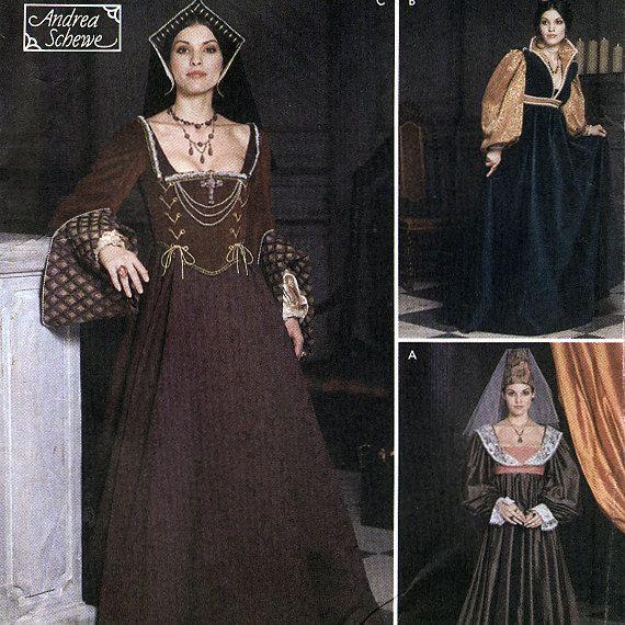 105 Best Images About Renaissance Sewing Patterns On Pinterest