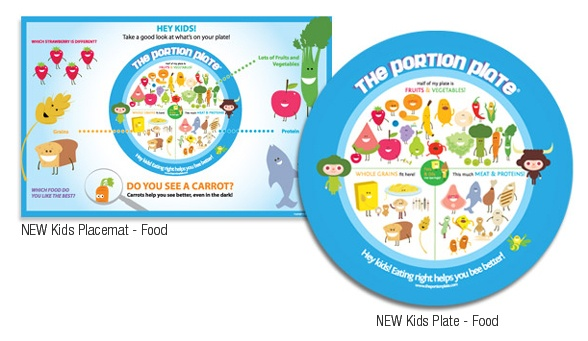Did u know in North America we have the largest resturant and dinner plates? 12 inches compare to 9 inch. So maybe its not what we eat but how much. These are great plates to teach you how much you only need to eat in each food group.Pluse it trains your brain that less is more