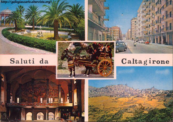 Cartoline da collezione Cartolina_Caltagirone