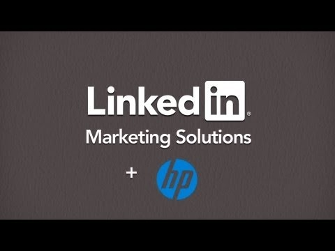[MARKETING] HP builds emotional connections with Followers on LinkedIn