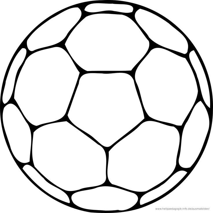 Ausmalbilder Fußball Zum Ausdrucken Zeichnen Und Malen