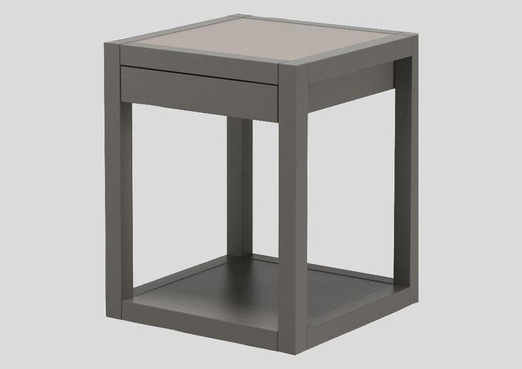nattbord Cube A-møbler