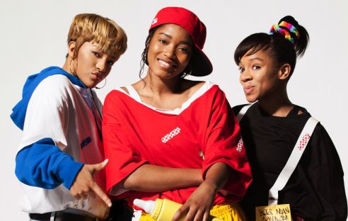 """Drew Sidora: 'I didn't know TLC danced so hard'- http://getmybuzzup.com/wp-content/uploads/2013/10/202071-thumb.jpg- http://getmybuzzup.com/drew-sidora-i-didnt-know-tlc-danced-so-hard/-  Drew Sidora: 'I didn't know TLC danced so hard' By Tracy Scott The ladies of TLC are known for their unique swag and vocals, but Drew Sidora, who portrays T-Boz in VH1′s """"Crazy, Sexy, Cool"""" biopic discovered that they're no joke when it comes to dancing either. """""""