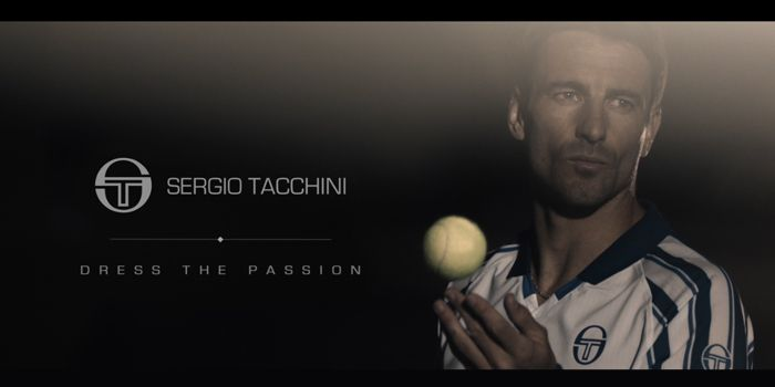 """Sergio Tacchini is proud to present the new spot """"Dress the Passion"""" live since today and available on our website www.sergiotacchini.com #SergioTacchini #TommyRobredo"""