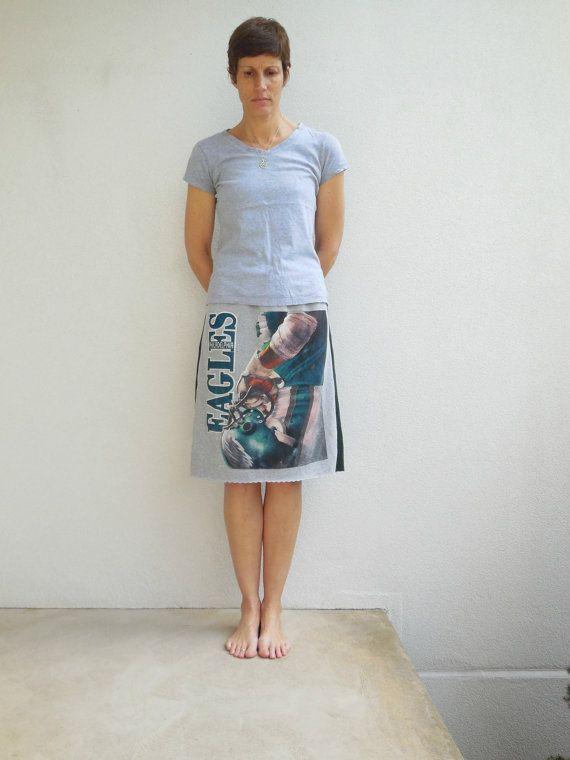Philadelphia Eagles T-Shirt Skirt Women's Skirt Womens by ohzie
