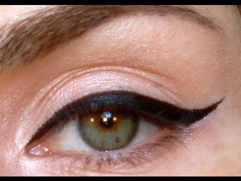 How to Do Perfect Winged Eyeliner. So simple and easy!