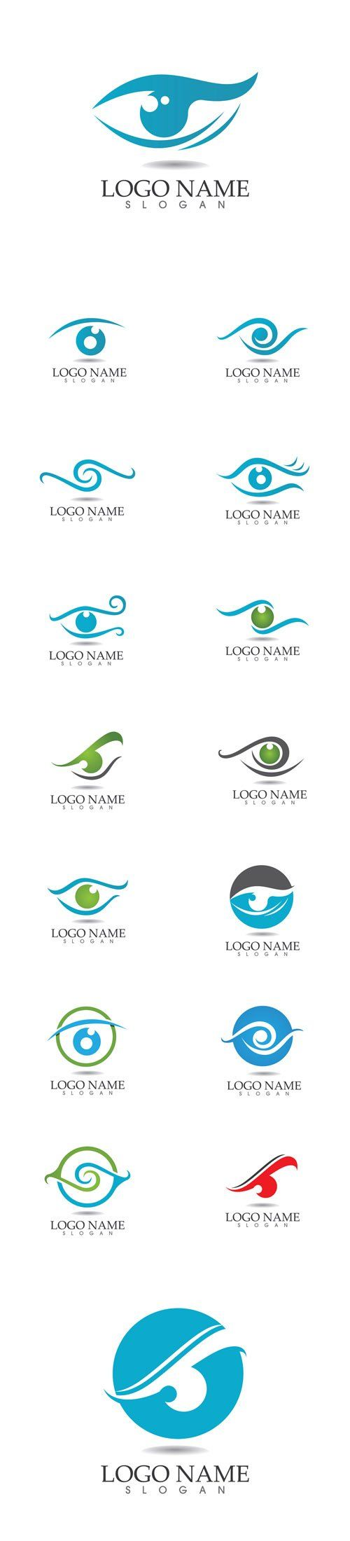 Vector Eye Care Logos                                                                                                                                                                                 Más