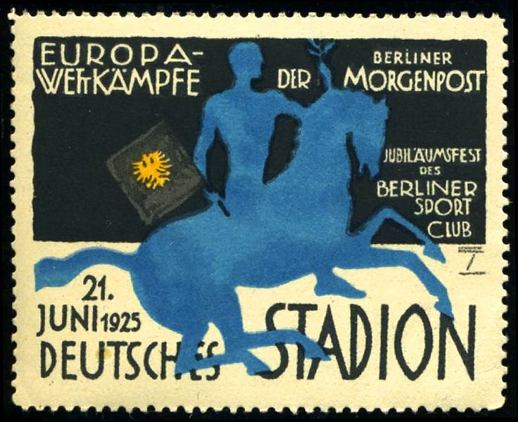 Poster-stamp  Ludwig Hohlwein