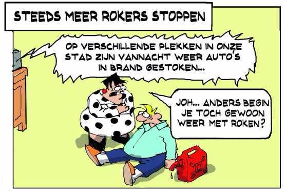 Ook Henk & Toos hebben soms moeite met het stoppen met roken.