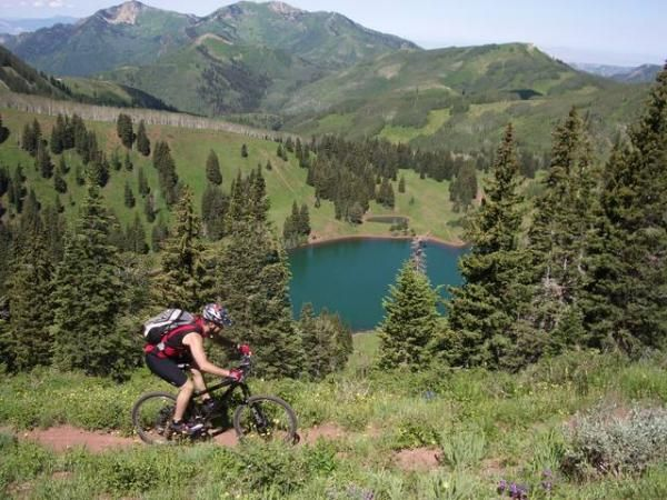 Pump up those bike tires – Salt Lake is a top mountain biking city of America! Here, a bike is all you need to take you somewhere amazing.