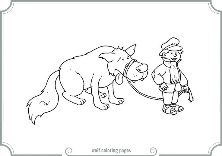 Peter And The Wolf Coloring Pages regarding Inspire to