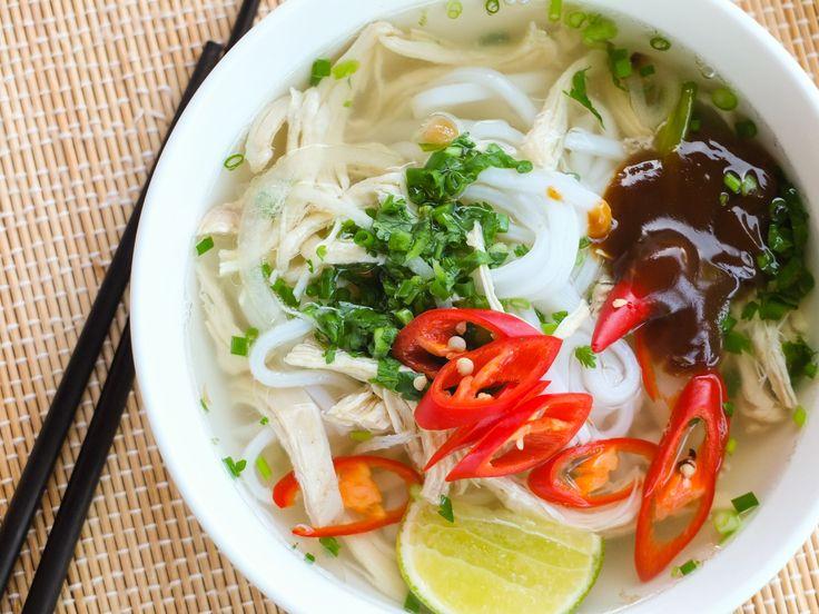 Soupe chinoise sans viande