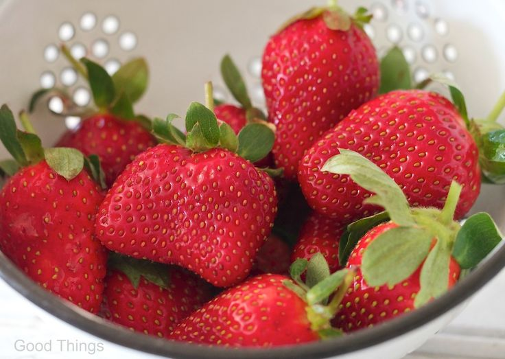 Queensland strawberries - photograph by Liz Posmyk, Good Things