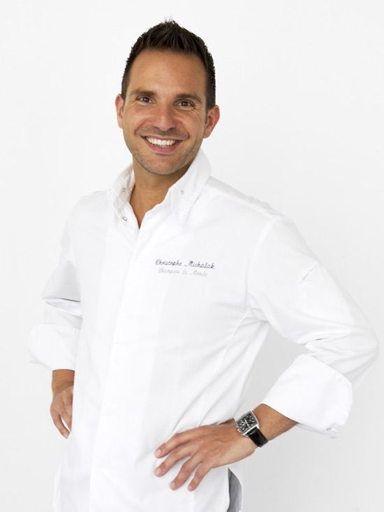 """Passionate & designer, Chef Christophe Michalak is in charge of Pastry in the famous """"Plaza Athénée"""" Palace's."""