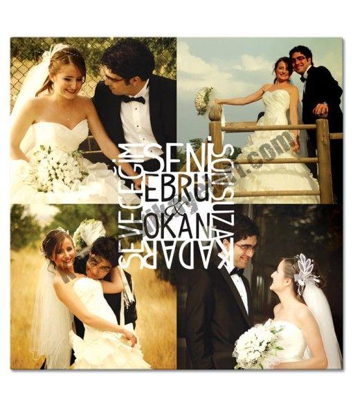 Gelin Damat Evlilik Kanvas Tablo www.kanvashikayeleri.com #dogumgunu #sevgili #sevgiliyehediye #kanvastablo #canvastablo #kanvashikayeleri #hediye #kolaj
