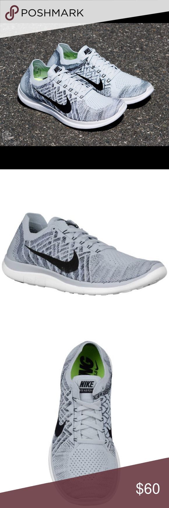 Nike Free 4.0 Flyknit The Nike Free 4.0 Flykit, snug fit and flexible. One-piece Flyknit snug, sock-like fit that moves with your foot while offering both support and breathability. Nike Shoes Athletic Shoes