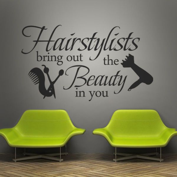 Salon Wall Decor best 25+ salons decor ideas on pinterest | salon ideas, small hair