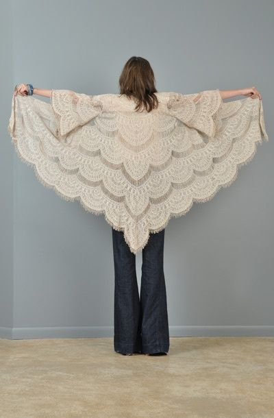 crochet jacket. This is absolutely beautiful.