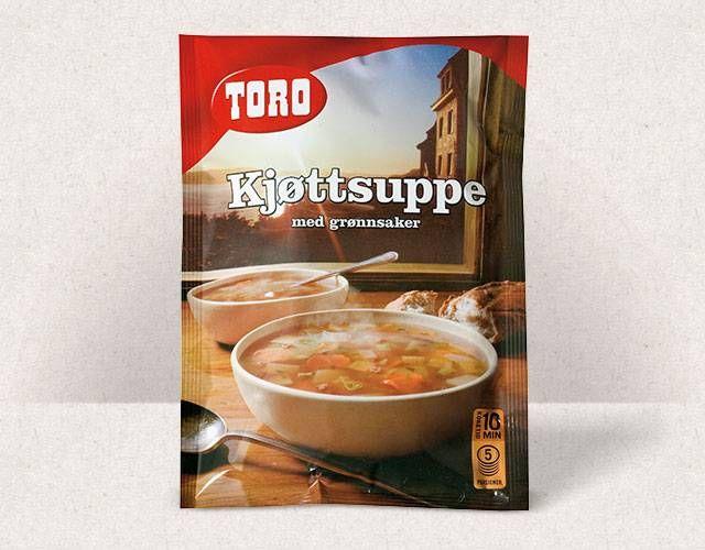 Toro Kjøttsuppe med grønnsaker