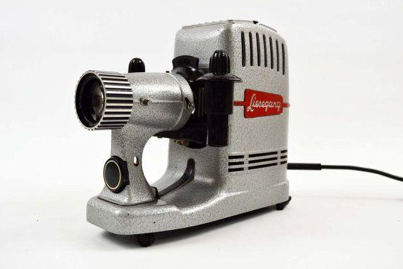 vintage LIESEGANG 35mm slide projector camera by littlebirdworks