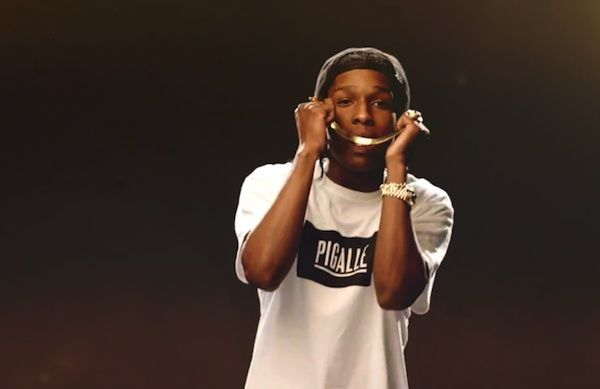 Asap Rocky Goldie Pigalle t-shirt