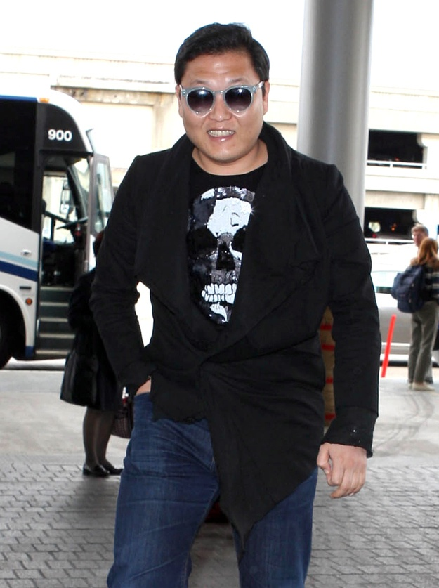 What Psy Looks Like In Street Clothes