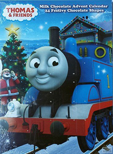 Thomas & Friends Advent Calendar, 25 Chocolate Shapes Thomas & Friends Kinnerton http://www.amazon.co.uk/dp/6041206490/ref=cm_sw_r_pi_dp_d-gCub1TTF0QC
