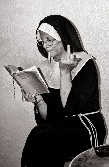 Nun - Copyright: © Bullhead Photography, 2007. °
