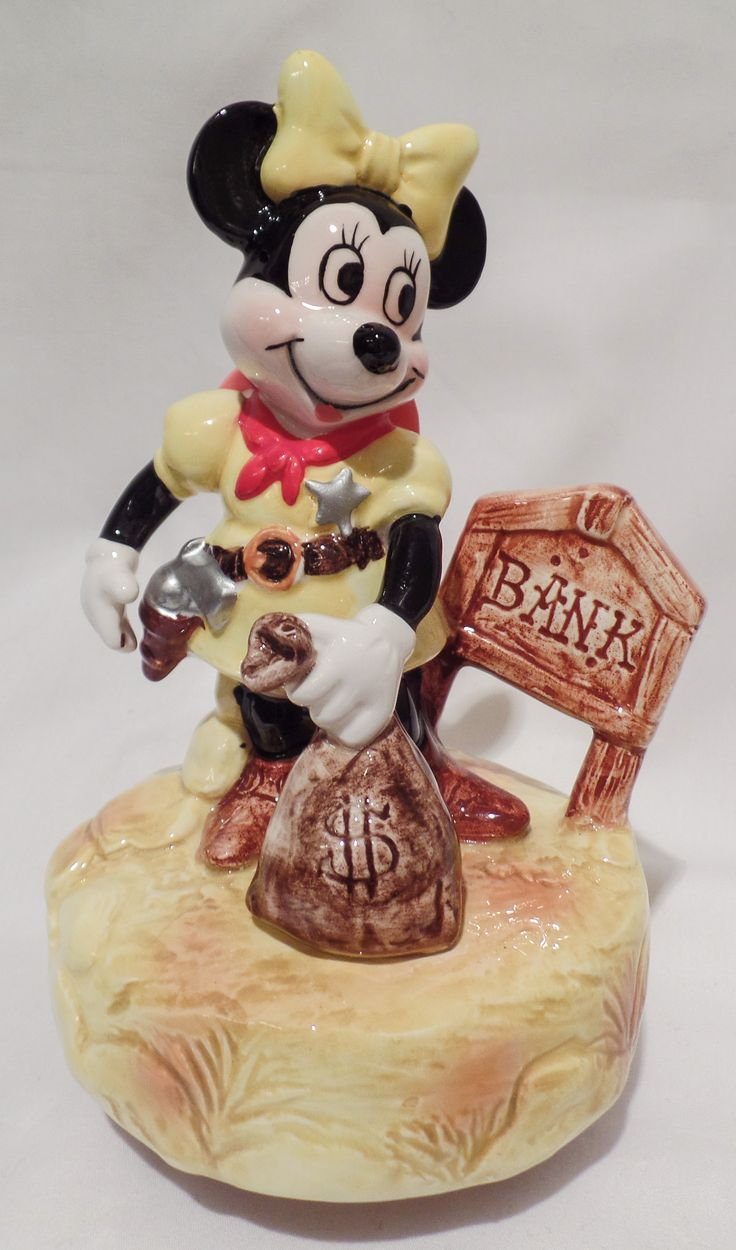 17 best images about music boxes on pinterest disney for Minnie mouse jewelry box