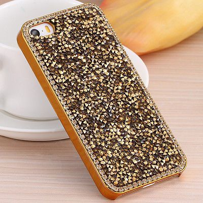 Case-For-iPhone-5-5S-5G-Luxury-Gold-Plated-Metal-Hard-Back