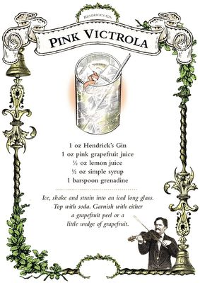 Hendricks Gin Cocktail Recipes ♥
