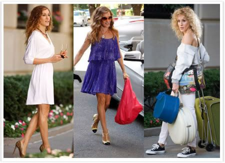 Carrie Bradshaw in Sex and City 2 Movie