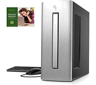 HP ENVY Desktop - AMD Ryzen, 8GB RAM, 1TB SDD,RX 580
