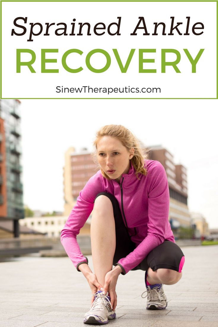 Sprained Ankle Recovery - Stiffness and decreased mobility are due to spasms in tendons and ligaments that have contracted reflexively beyond their normal range from the impact of the injury. Learn more at SinewTherapeutics.com