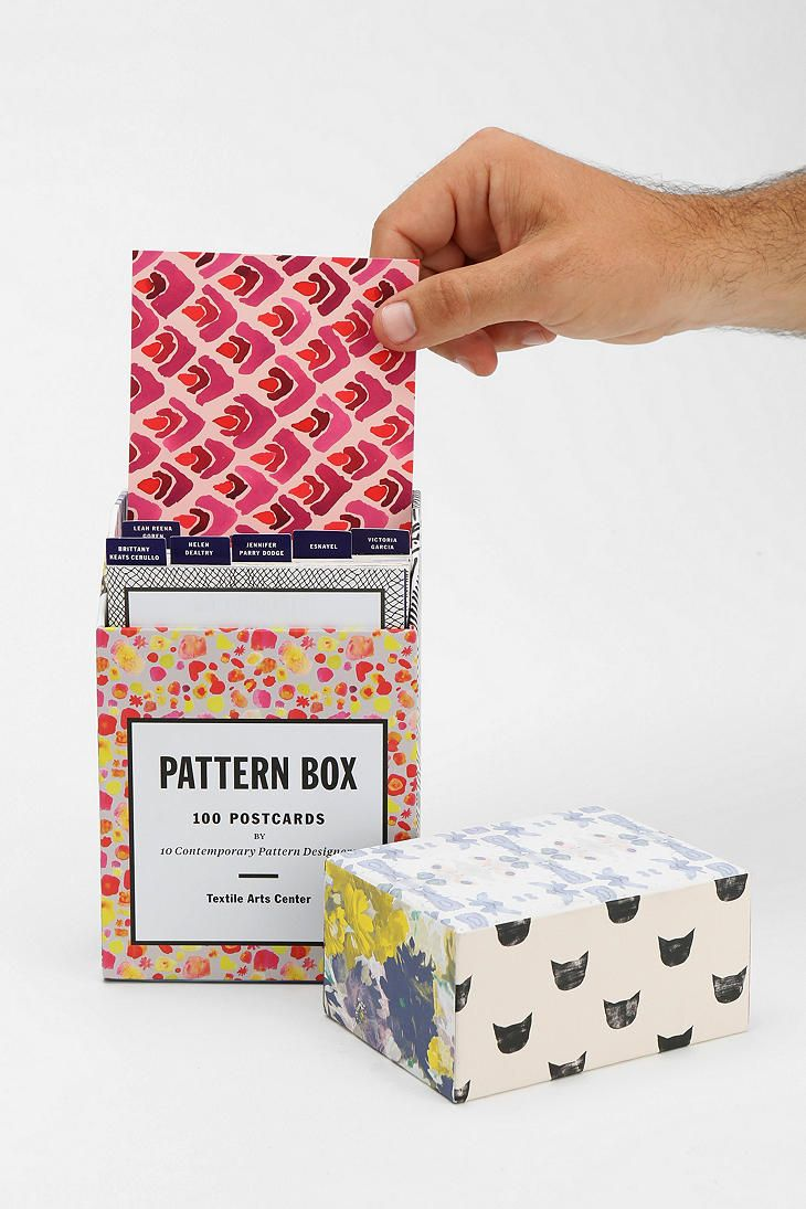 Dear Santa....  Pattern Box Postcard Set - Urban Outfitters