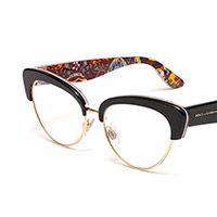 Occhiali vista donna montatura nera a gatto DG3247