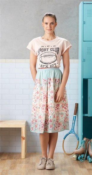 Só na Antix Store você encontra Saia Midi Flor de Hipismo com exclusividade na internet