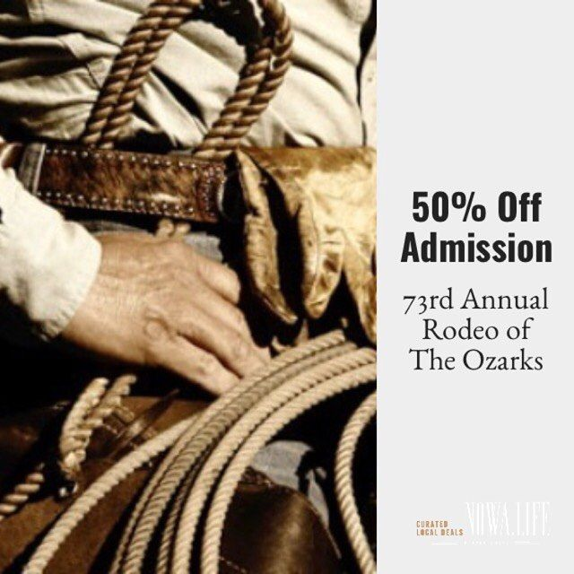 Cowboy Up! It's Rodeo Time! Save 50% on General Admission tickets.  Nowa.Life is the only site to offer tickets for every night of the rodeo.  Limited quantities don't wait.  Share this post and share the fun. http://ift.tt/2s2RtCB