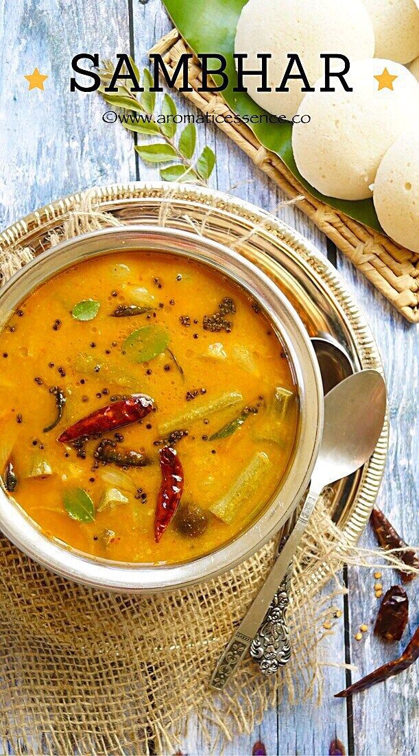 Sambar or Sambhar is an integral part of the South Indian cuisine. It is a lentil based stew with the addition of various vegetables or sometimes just one vegetable is added. It is a perfect accom…