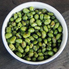 High Protein and Low Calorie: Roasted Edamame