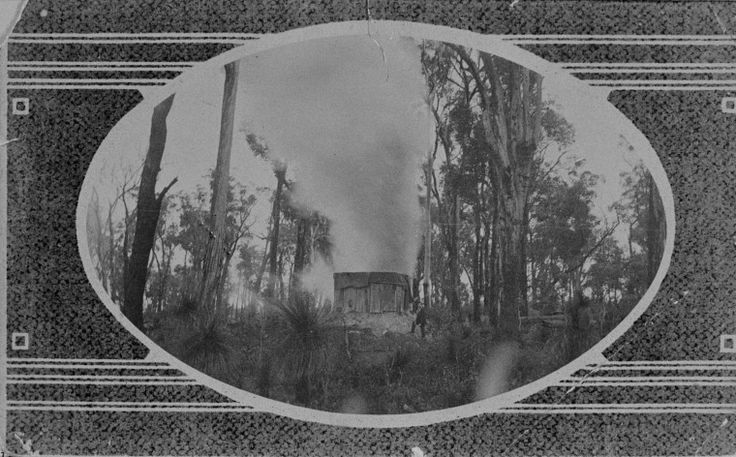 024814PD: Wallsend Mine on fire, smoke coming from the air shaft, 1910 http://encore.slwa.wa.gov.au/iii/encore/record/C__Rb3507687?lang=eng
